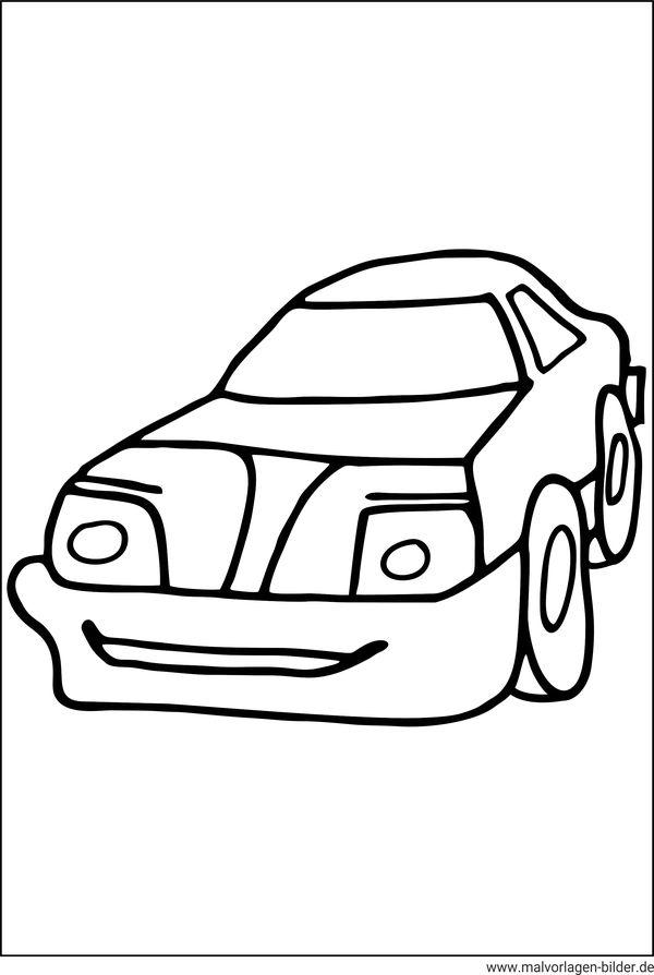 auto  malvorlagen und ausmalbilder für kinder