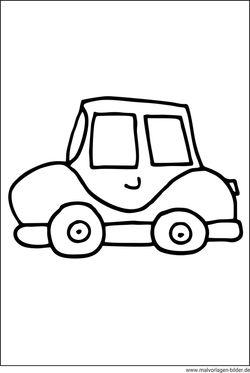 Gratis Malvorlagen und Ausmalbilder von Autos zum kostenlosen ...