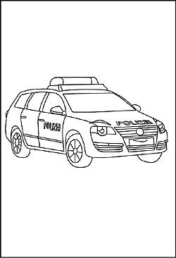 Kleurplaten Politieauto.Politieauto Kleurplaat Malvorlage Polizeiauto Ausmalbild 24104