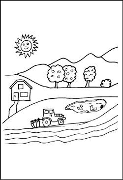 Bauernhof Kostenlose Malvorlagen Und Ausmalbilder Zum Ausdrucken