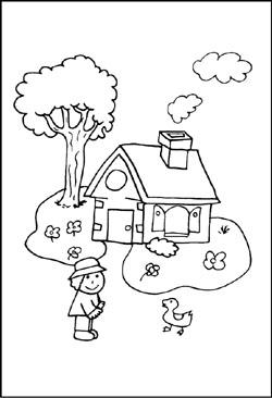 Bauernhof - kostenlose Malvorlagen und Ausmalbilder zum Ausdrucken ...