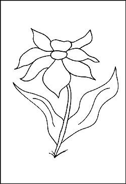 Malvorlagen von blumen und pflanzen gratis window color bilder
