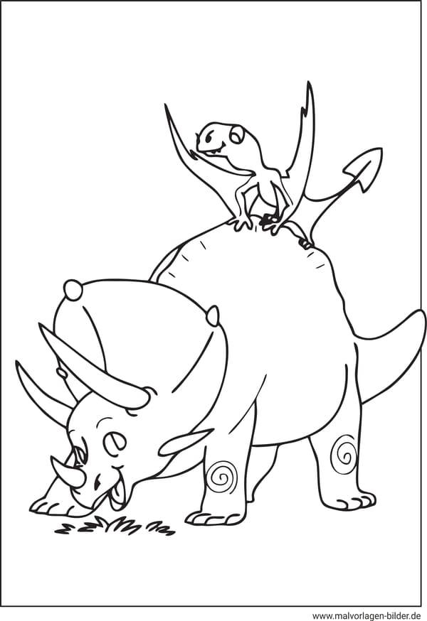 Dino Bilder Fur Kinder Malvorlage