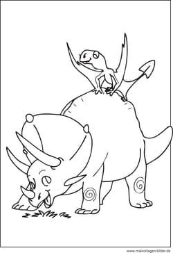 dinosauriern - malvorlagen ausmalbildern