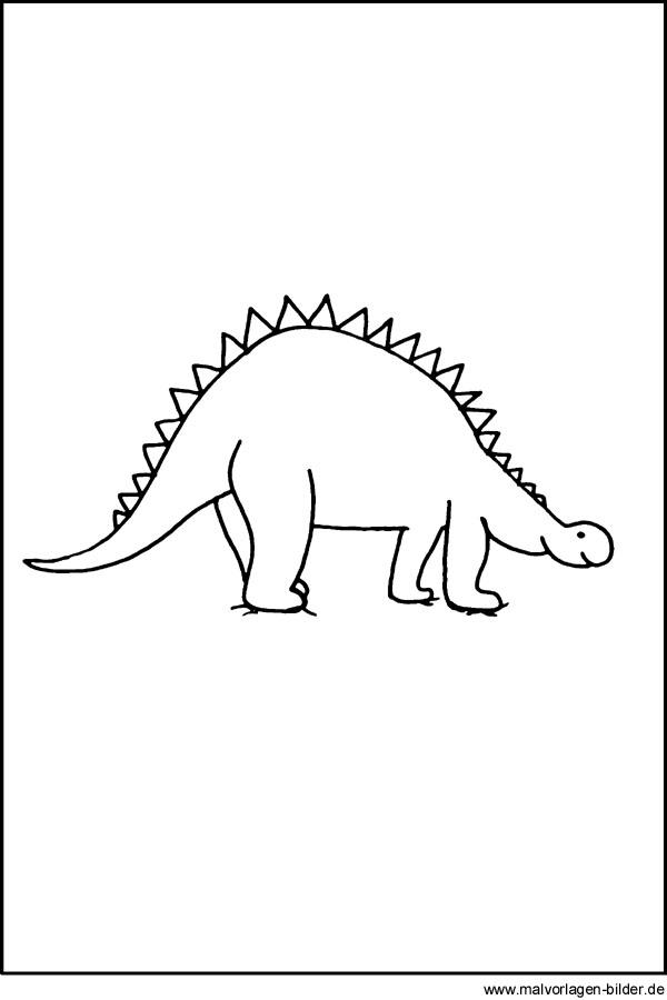 Dinosaurier Window Color Bild - Kostenlose Malvorlagen und Ausmalbilder