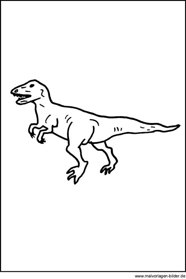 kostenlose ausmalbiler  dinosaurier