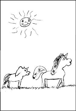 Malvorlagen Und Ausmalbilder Von Einhorn Und Pegasus
