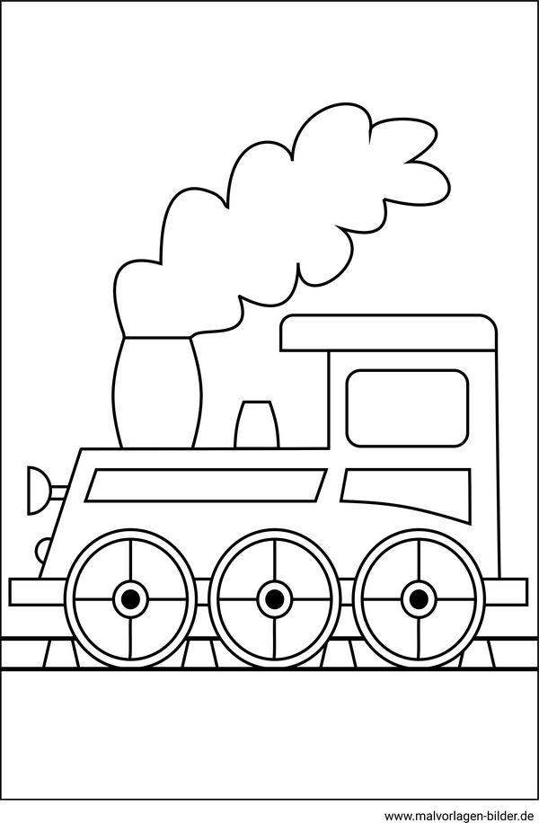 Malvorlagen Eisenbahn Kostenlose Window Color Bilder
