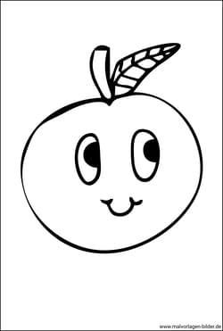 Obst Und Gemuse Ausmalbilder Malvorlagen