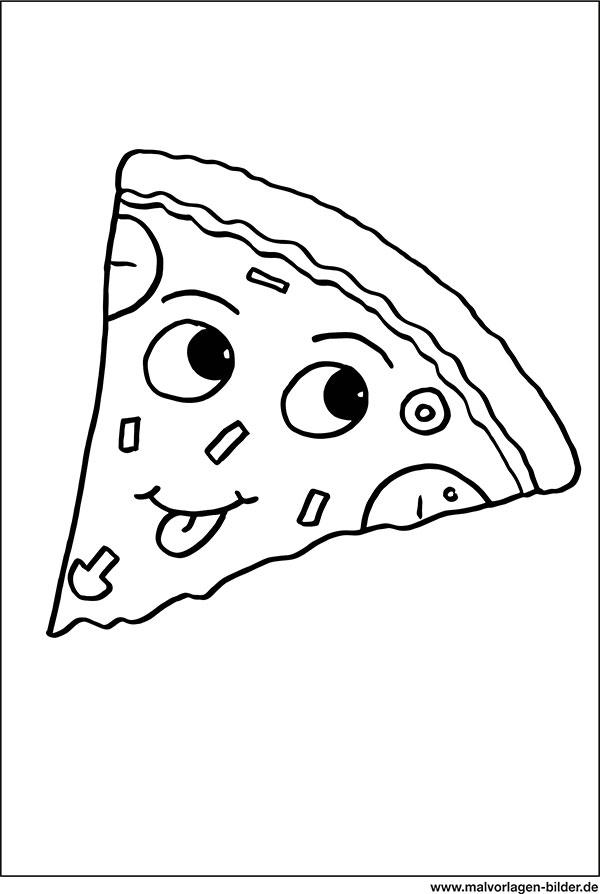 Malvorlagen Pizza Malvorlagencr
