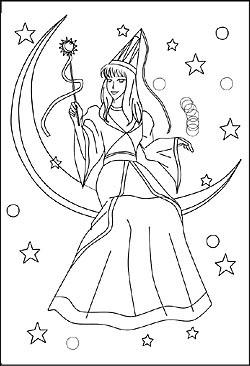Malvorlagen Und Ausmalbilder Von Feen Elfen Und Anderen Zauberwesen