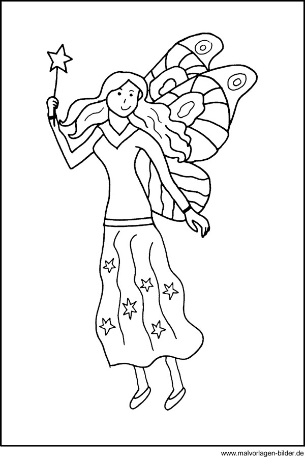 44 Ausmalbilder Prinzessin Fee | Best Coloring Page
