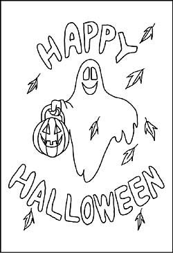 halloween malvorlagen und ausmalbilder f r kinder zum. Black Bedroom Furniture Sets. Home Design Ideas