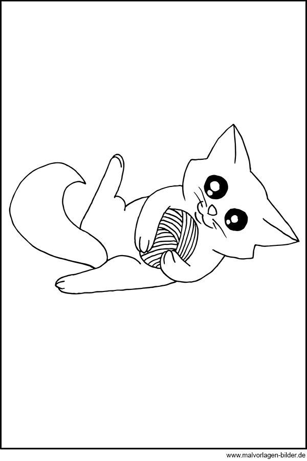 Malvorlagen und Ausmalbilder von Haustieren zum Ausdrucken