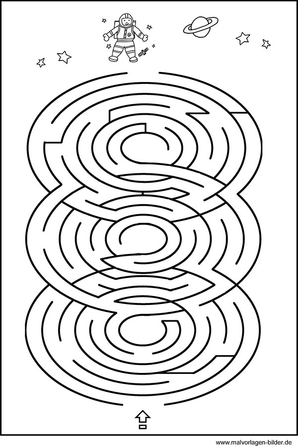 kinderrätsel  labyrinth  geschicklichkeitsspiel für kinder