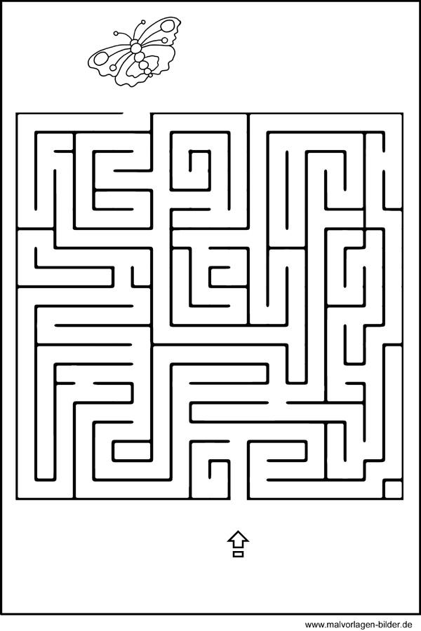 labyrinth  geschicklichkeitsübung für kinder  kinderrätsel