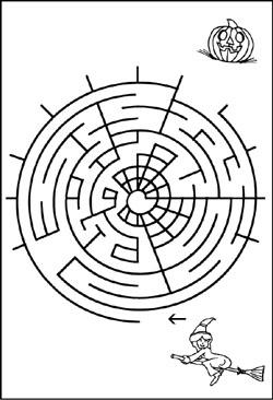 Labyrinth Bilder Für Kinder Kinderrätsel