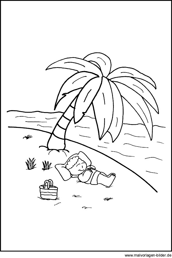 Strand Urlaub Meer Palmen