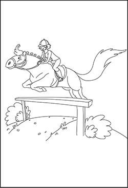 Pferde Malvorlagen Und Ausmalbilder Fur Kinder