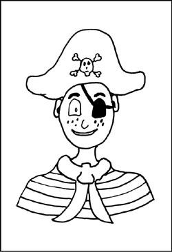 Malvorlagen Piraten zum kostenlosen Ausdrucken - gratis Window ...