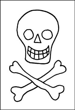 Malvorlagen piraten zum kostenlosen ausdrucken gratis - Schatzkiste basteln vorlage ...