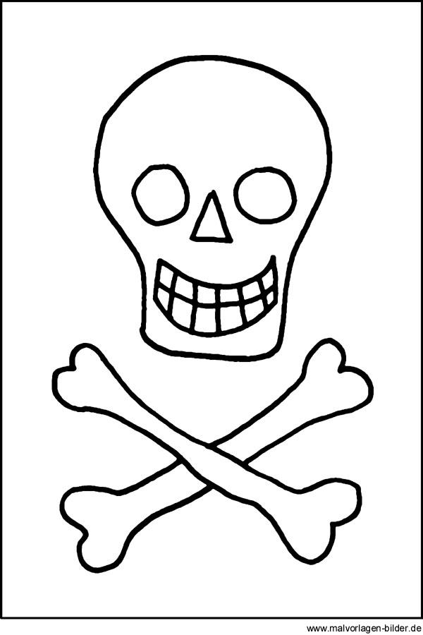 Malvorlagen für Piraten Kinder