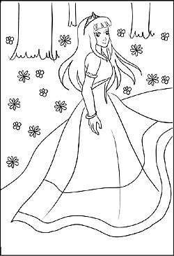 malvorlagen prinzessin zum drucken | coloring and malvorlagan