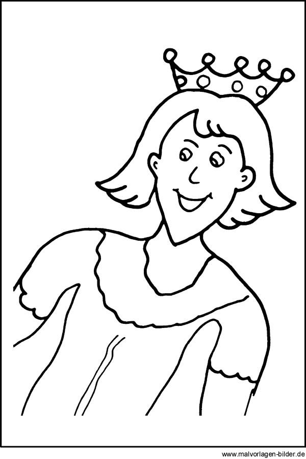 Kostenlose Malvorlage von einem Prinz | gratis Windowcolor ...