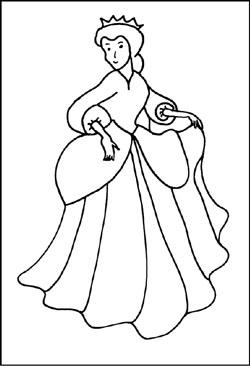 Prinzessin Könige Malvorlagen Ausmalbilder