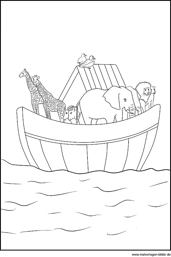 Image Result For Lds Coloring Pages Noah S Ark