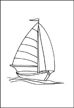 Boot bastelvorlage  Kostenlose Malvorlagen von Schiffen und Booten