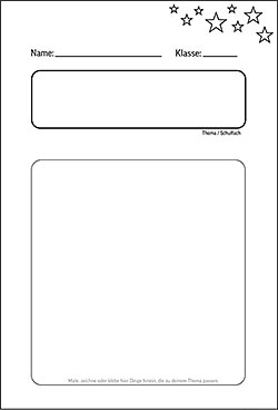Deckblatt Selbst Gestalten | marlpoint