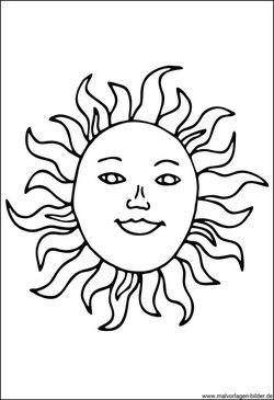 Sonne Mond Und Sterne Malvorlagen Und Window Color Bilder