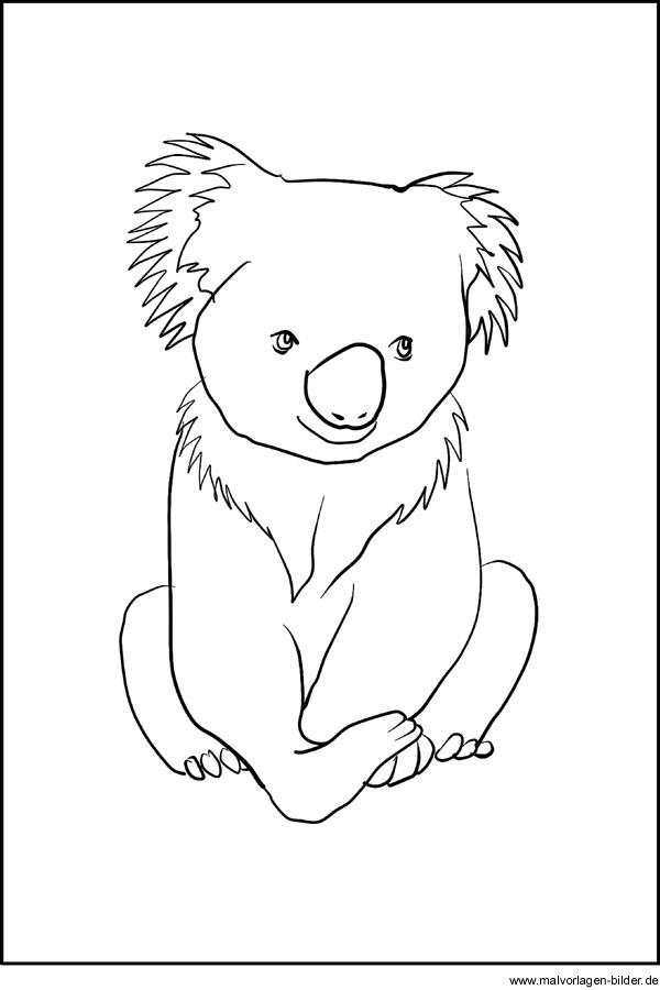 Malvorlagen Australische Tiere | My blog