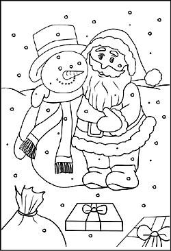 Malvorlagen zu Weihnachten | Kostenlos Ausmalbilder und Malbilder
