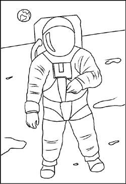 Weltraum Malvorlagen Ausmalbilder