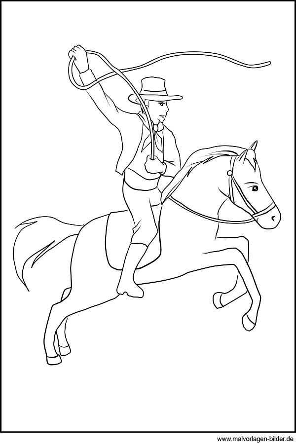 Ungewöhnlich Cowgirl Malvorlagen Zum Ausdrucken Zeitgenössisch ...