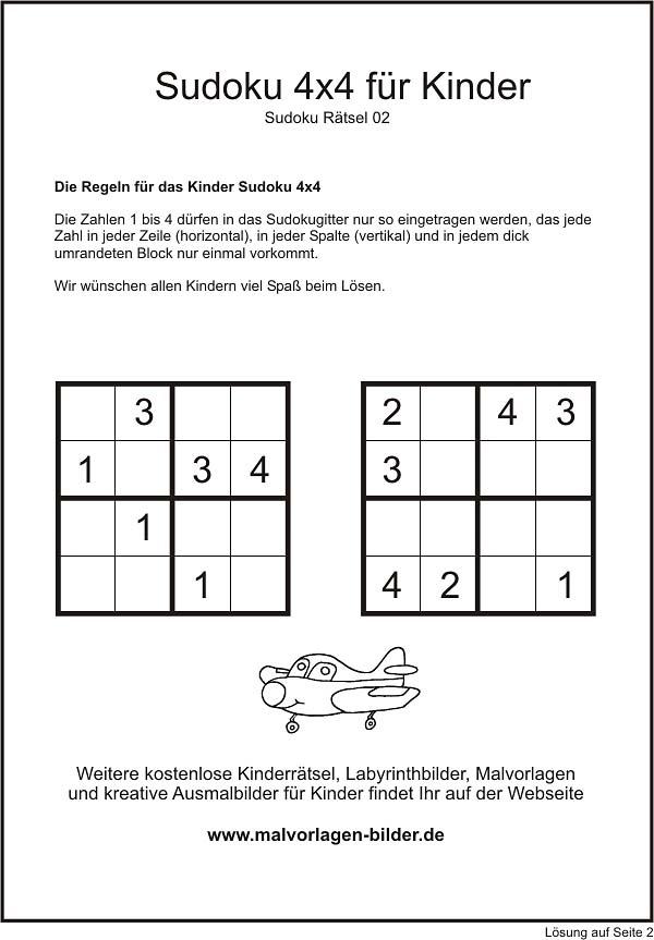 sudoku gratis ausdrucken